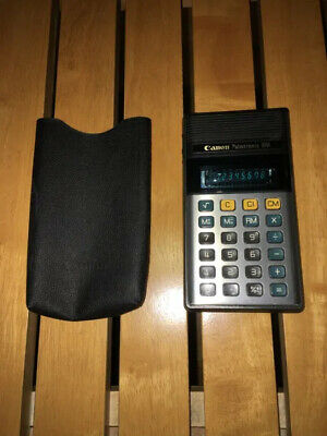 ## calculator Canon palmtronic 8m (vintage / working) ##