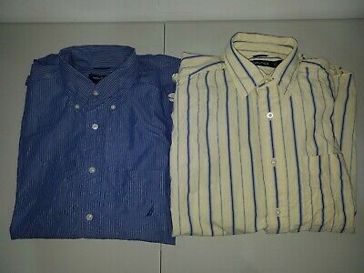Nautica Two Pack of Men's Button-down Shirts