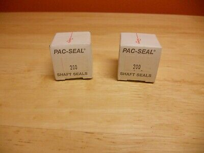 2 Ea Flowserve Pac-Seal Shaft Seal  200