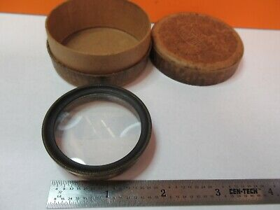 Antique Carl Zeiss Lens Stereo Optics Microscope Part As Pictured &7B-B-70
