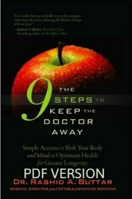 The 9 Steps to Keep the Doctor Away by Rashid Buttar 🔥 (P.D.F) 🔥