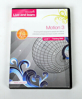 Talented Pixie Apple Motion 3 -  Training  DVD Tutorial Video - Jerry Leer