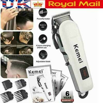 KEMEI 809A Professional Hair Clippers Cordless Rechargeable LCD Display Trimmers