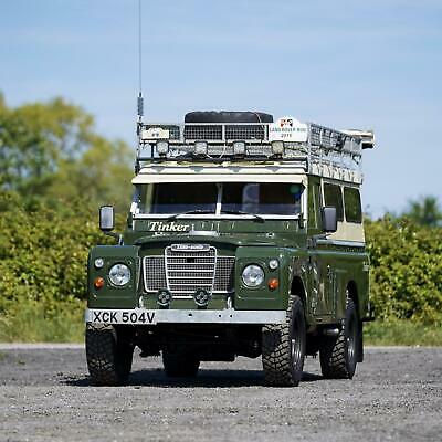 """Land Rover Series 3 109"""" Camper Conversion 44,000 Miles from New"""