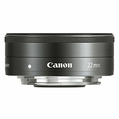 [Used] [1 year warranty] Canon EF-M 22mm F2 STM Black Store EXC++
