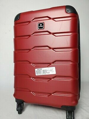 """$200 TAG Matrix 2 20"""" Hard Case Spinner Carry-On Travel Suitcase Luggage Red"""