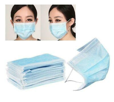 🌟😷(5/10/20 Pack)3-Ply Disposable Blue Earloop Face Mask, Medical, Surgical😷🌟