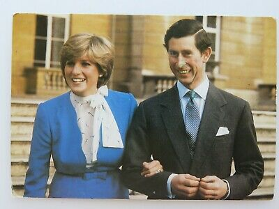 Vintage Postcard Charles And Diana Prince Of Wales Lady Diana A2316