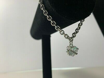Juicy Couture Bracelet Banner Heart Bow Rhinestone