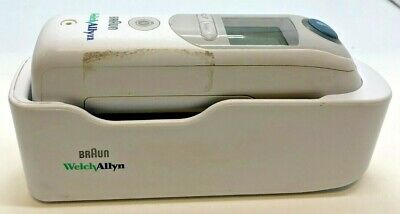 Braun Welch Allyn 901054 ThermoScan Ear Thermometer Pro 6000 + Cradle - Used