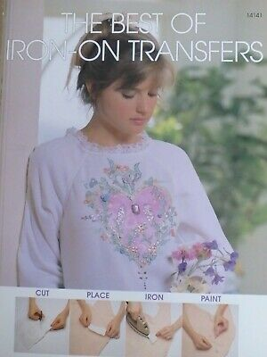 Iron on Transfers Book for Embroidery,Thread Painting, Fabric or Wood Painting.