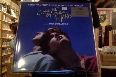 Call Me By Your Name OST 2xLP sealed 180 gm black vinyl soundtrack + poster