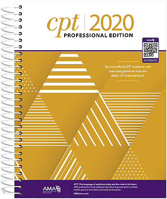 CPT 2020 PROFESSIONAL EDITION by American Medical Association Read Discription