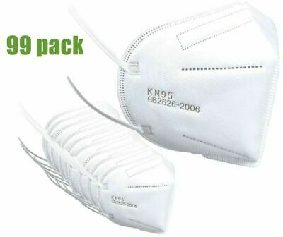 95-KN Protective Face Mask Certified Respirator - 99 Pack