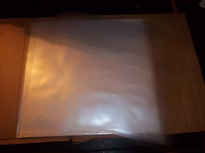 "1 Various Record + 100 ct 12"" 2 mil Clear Plastic Outer Jackets Vinyl LP Album"