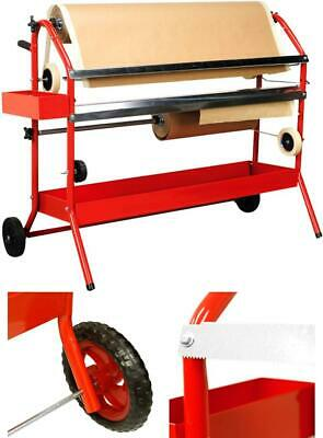 Multi Roll Masking Paper Machine With Storage Trays For Auto Body Repair Work