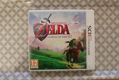 Jeu Nintendo 3DS The Legend of Zelda: Ocarina of Time (français) TBE