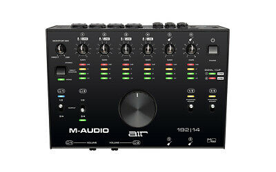 M-Audio Air 192X14 8-In/4-Out 24/192 Usb Audio/Midi Interface