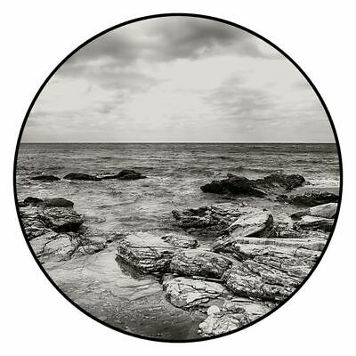 NEW SLH Seascape Round Canvas Print