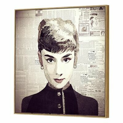 NEW SLH Audrey Canvas Artwork, Square