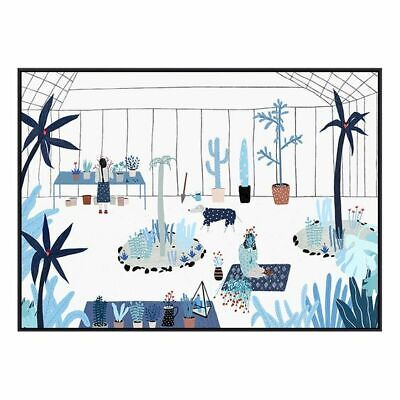 NEW SLH Greenhouse Framed Canvas Artwork