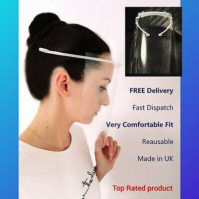 New! Best Face Shield Visor Protective Full Mask - FREE DELIVERY