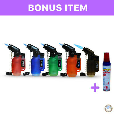 Eagle Torch 45 Degree Lighter Adjustable Refillable Butane Outdoor Wind Proof
