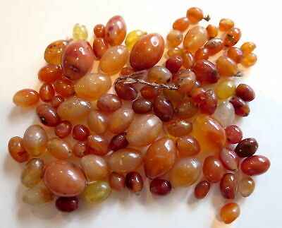 CARNELAIN ANTIQUE AGATE Beads OLD Stock