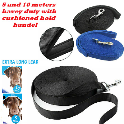 Dog leash Training Lead Strong  Recall Line Walking 10m 5m Extra Long pet rope