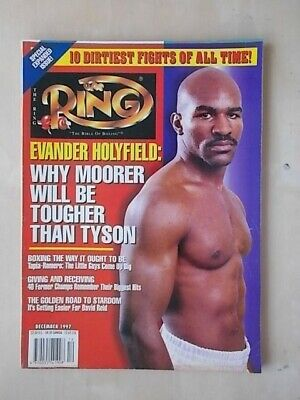 The Ring Boxing Magazine - December 1997 - Evander Holyfield