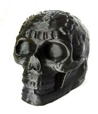 Aztec Death Whistle Skull in BLACK Screaming Whistle SEE VIDEO