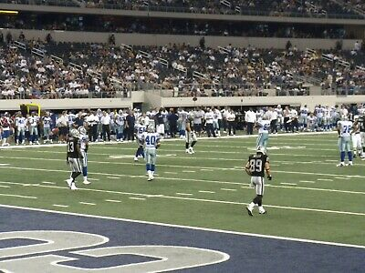 2 Of 4 Dallas Cowboys Vs Pittsburgh Steelers Tix .Front Row. Seats
