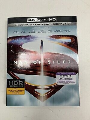 Man Of Steel 4k Ultra Hd Blu Ray Factory Sealed New No Slipcover 18 95 Picclick