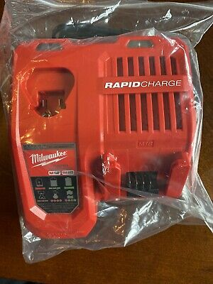 Milwaukee M12 And M18 Rapid Charger 48-59-1808 New