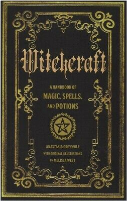 Witchcraft Handbook of Magic Spells and Potions ⚡by Anastasia Greywolf⚡P-D-F🔥✅