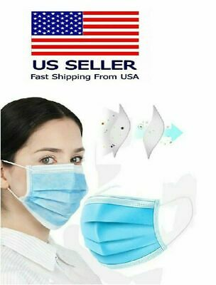 30 PCS Face Mask Medical Surgical Dental Disposable 3-Ply Earloop Mouth Cover