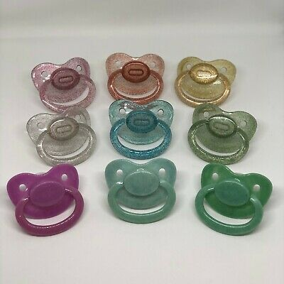 *PreOrder* Glitter Adult-Sized Pacifier - Soother, Oral Fixation, Little Space