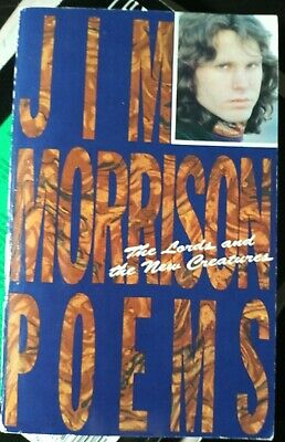 The Lords and the New Creatures Poems by Jim Morrison 0-671-21044-0 /VG