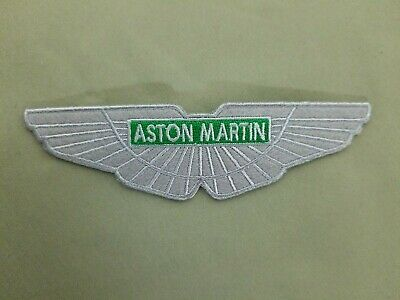 Aston Martin Embroidered Iron On Automotive Patch