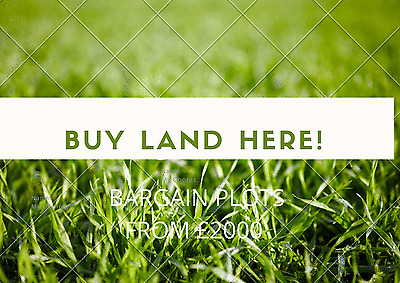 freehold plot of land for sale uk england + scotland low prices unique list