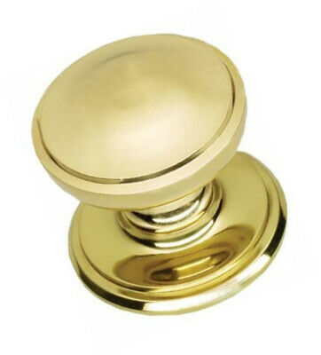 House Of Brass Solid Heavy Cast Polished Brass Victorian Centre Door Knob Knob)