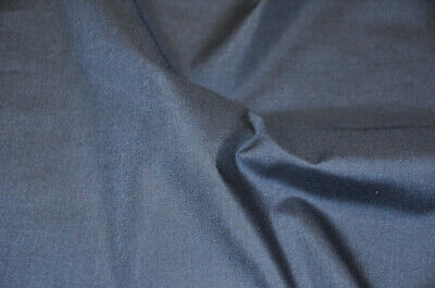 "60"" Wide Premium Cotton Blend Broadcloth Fabric by The Yard - NAVY BLUE"