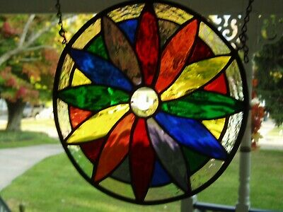 stained glass color wheel $60.00 Made in USA