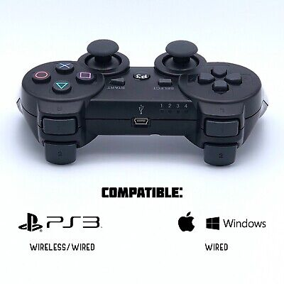 Rechargeable Wireless Controller Remote for Sony PS3 PlayStation 3 w/ Vibration
