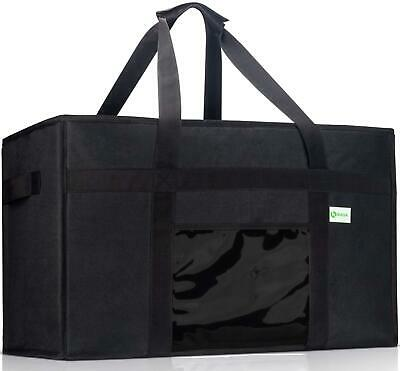 Kibaga Premium Insulated Food Delivery Bag Xxl - 23X14X15 Inches Waterproof Cate