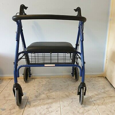 "Big Disability Walker - 180KG Capacity - Seat Measures 20"" long by 18 ""wide"