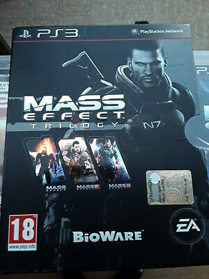 Mass Effect Trilogy - Trilogia -Saga Completa Per Playstation 3 Usato Pal Ita