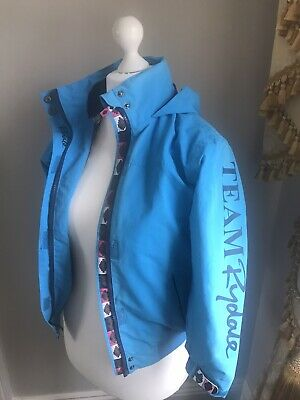 Rydale Polo Girls Riding Jacket Age 9 / 10 Blue Equestrian