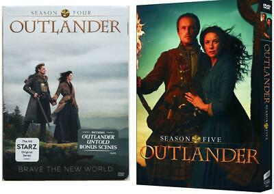 Outlander: The complete series [DVD, 2019] of seasons 4-5 is brand new. free del