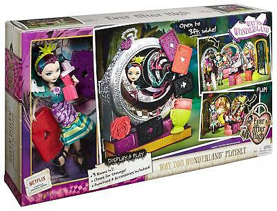 Ever After High Way Too Wonderland High and Raven Queen Playset CJC40-CO